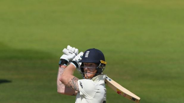 Ben Stokes reached his 19th Test fifty on the fifth morning at Lord's