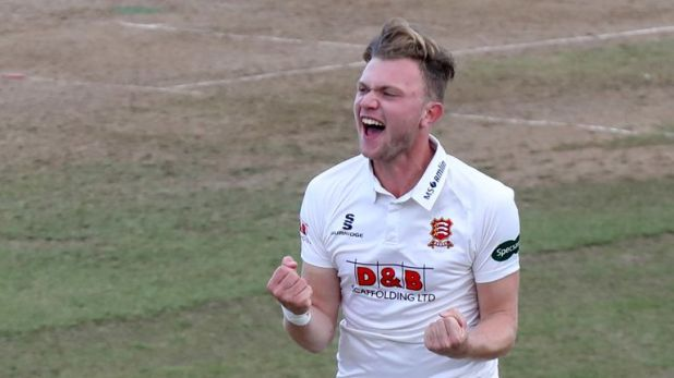 Sam Cook picked up seven wickets as Essex bowled Kent out for only 40