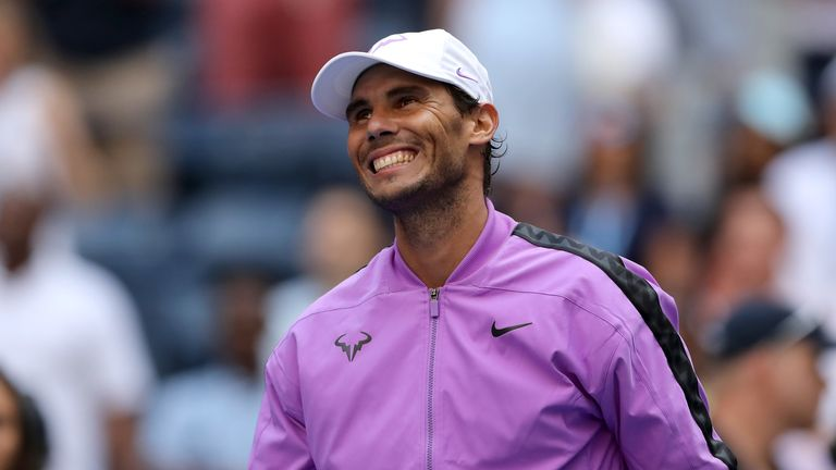 Nadal is targeting a second Grand Slam title this year