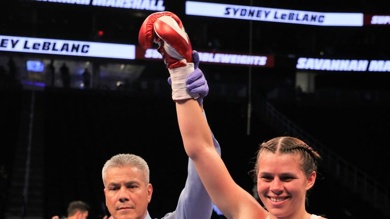 Savannah Marshall returns to the ring this month