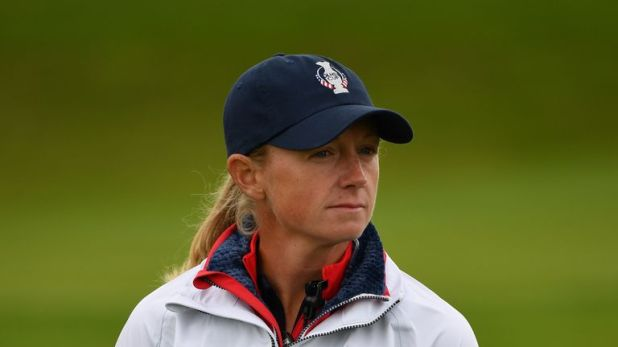 Stacy Lewis was forced to pull out on Monday