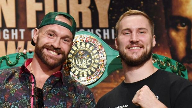 Fury faces Wallin in Las Vegas on Saturday night