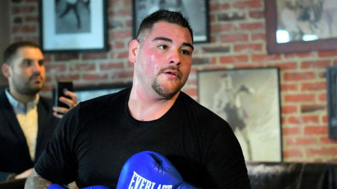 Andy Ruiz Jr. prepares for a fight for the second world title against Anthony Joshua