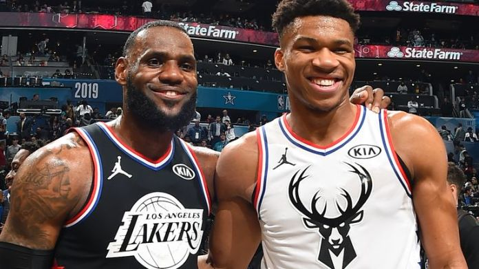 Giannis und LeBron wurden erneut als All-Star-Kapitäne ausgewählt