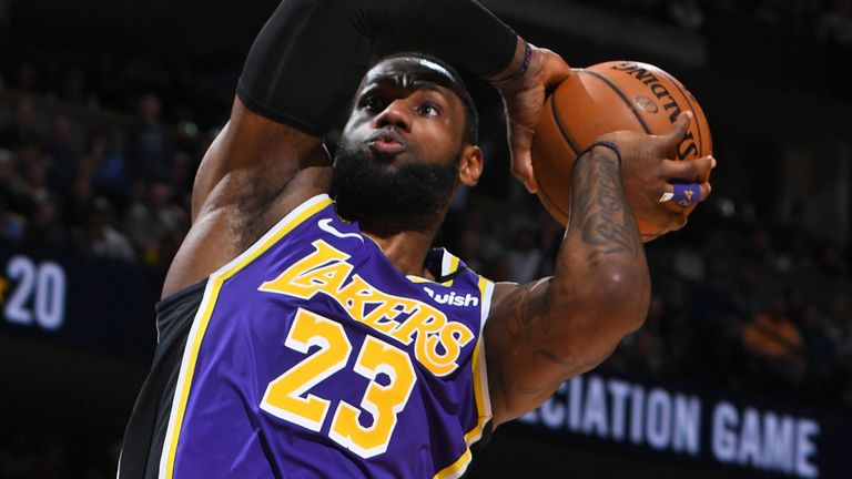Lebron James Posts Triple Double To Lift Lakers Past