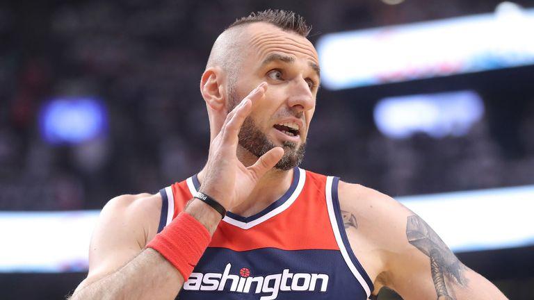Marcin Gortat announces NBA retirement in Polish TV interview   NBA News   Sky Sports