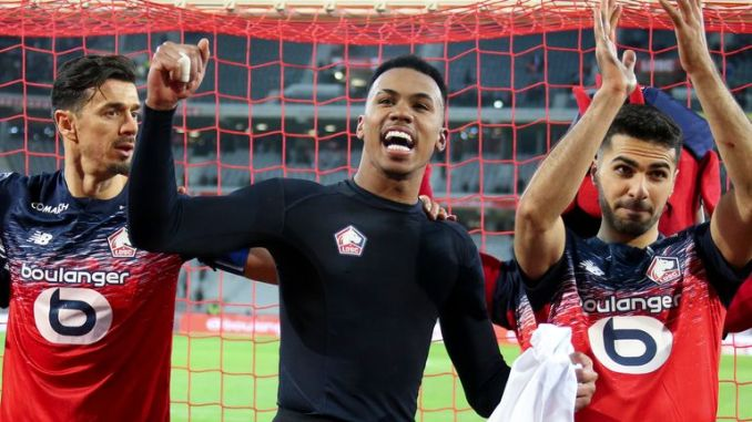 """Lille president Gerard Lopez says Gabriel is """"a real fighter"""""""