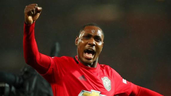 Ighalo has performed well for United