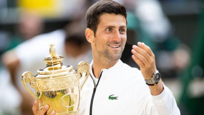 Novak Djokovic hopes to defend his male title this summer
