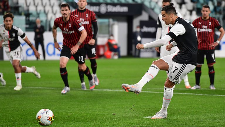 Photo of Juventus 0-0 Milan (agg 1-1): Cristiano Ronaldo misses pen but hosts make Coppa Italia final