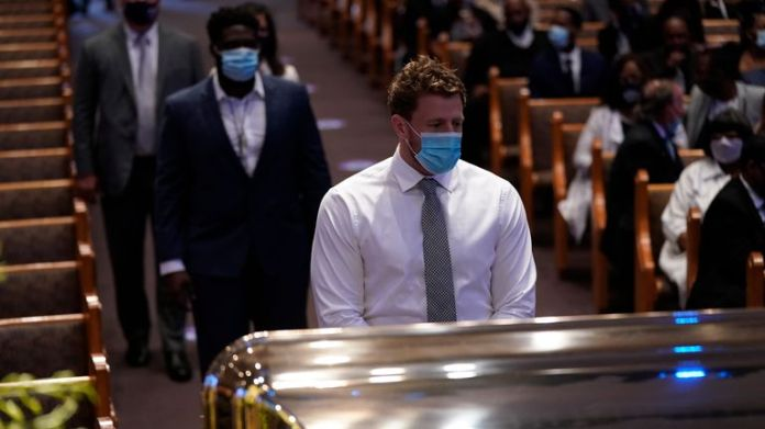 JJ Watt was among the Houston Texans players and staff that attended George Floyd's funeral