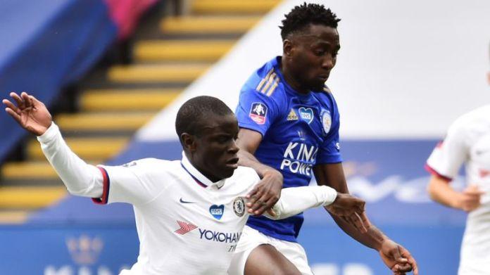 Wilfred Ndidi rzuca wyzwanie byłemu pomocnikowi Leicester, N'Golo Kante