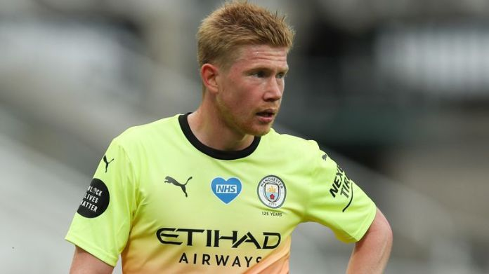 Kevin De Bruyne has tied Thierry Henry's Premier League record for most assists in a season this season
