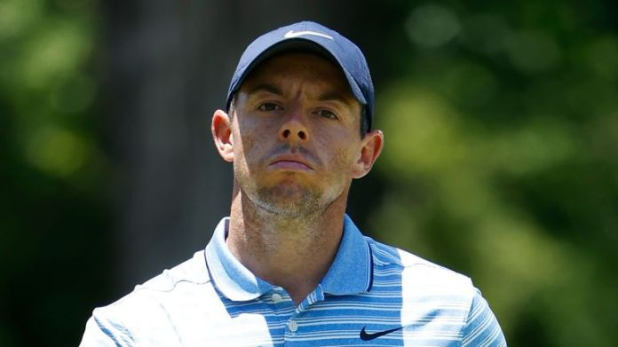 Rory McIlroy is three behind after a disappointing 69