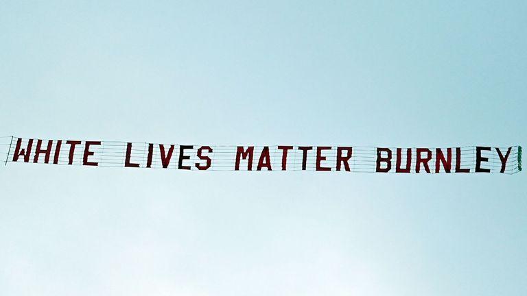 Burnley fan Jake Hepple sacked for part in 'White Lives Matter ...
