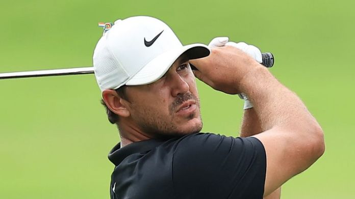 Brooks Koepka went from two in front to four behind