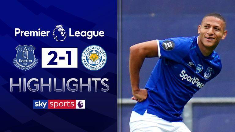 Everton 2 1 Leicester Match Report Highlights