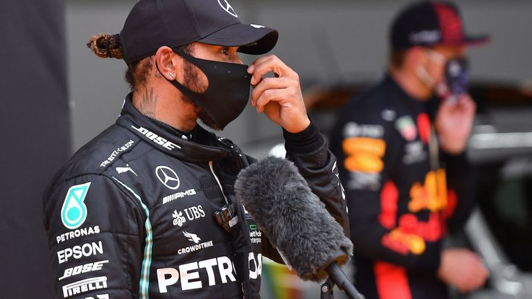 Styrian Gp Qualifying Lewis Hamilton Claims Wet Weather
