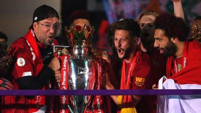 Lallana leaves Anfield a Premier League champion