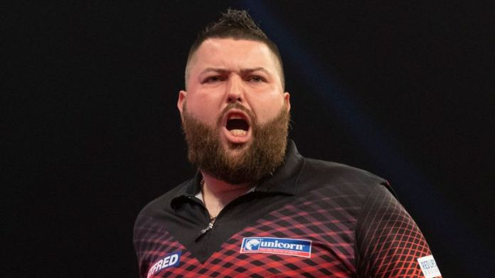 After ending a two-year wait for a PDC title by beating Jermaine Wattimena on day one, Michael Smith made it two in a row on day two