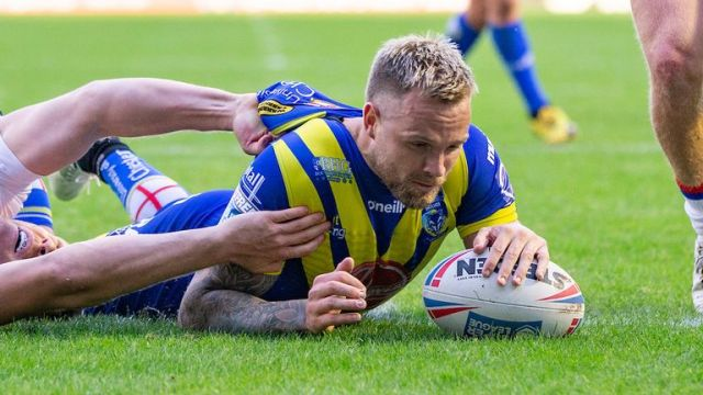 Blake Austin returns to the Warrington side after missing the win over Leeds