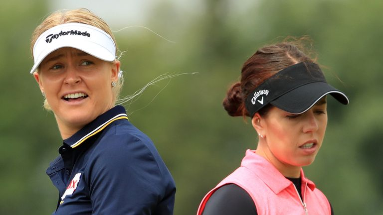Charley Hull and Georgia Hall are both heading to the Middle East next month