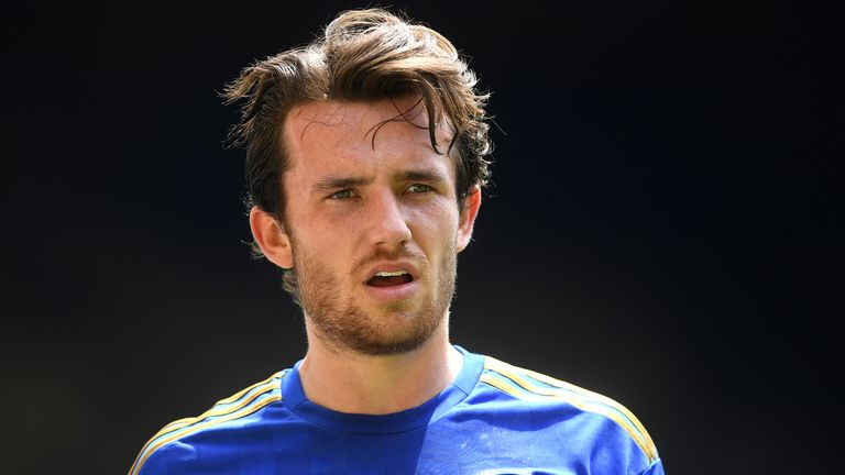 Ben Chilwell will miss Chelsea's match against Brighton on Monday