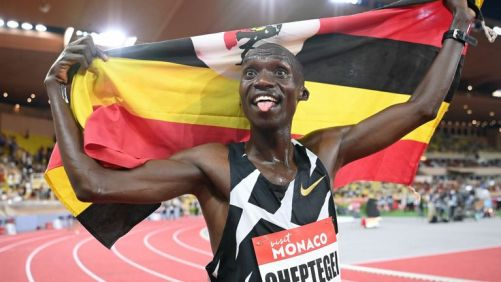 Joshua Cheptegei smashes 16-year-old 5,000 metres world record in ...
