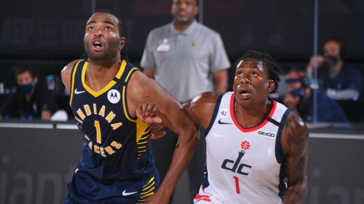 Indiana Pacers and the Washington Wizards