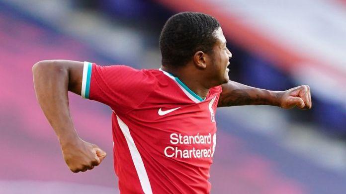 Rhian Brewster scored both goals in Liverpool's comeback draw against Red Bull Salzburg
