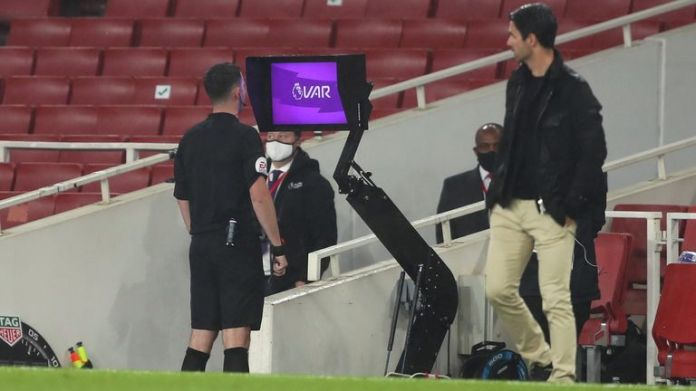 Referees will be encouraged to use pitch-side monitors more regularly during the 2020-21 Premier League season