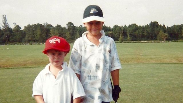 Koepka credits his brother, Chase, for getting into the sport