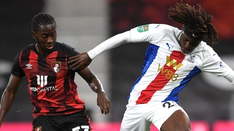 Eberechi Eze made his full debut for Crystal Palace