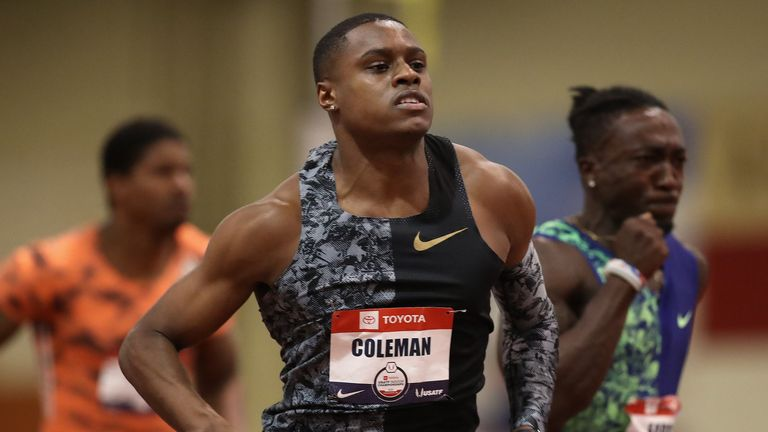 World 100m champion Christian Coleman will miss next year's Tokyo Olympics after being handed a two-year doping ban