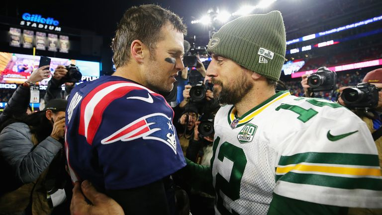 Brady and Rodgers have won one game apiece from their first two meetings