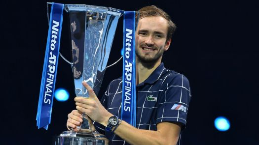 Daniil Medvedev claims maiden ATP Finals title in London ...