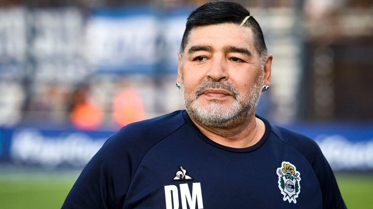 Diego Maradona to undergo surgery for blood clot on brain | Football News |  Sky Sports