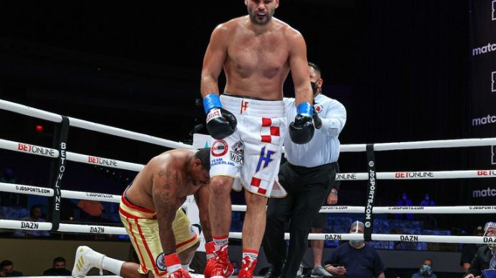 Filip Hrgovic is unbeaten in 12
