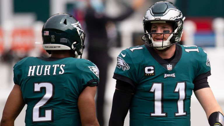 Carson Wentz: What do the Philadelphia Eagles do with their struggling  starting quarterback? | NFL News | Sky Sports