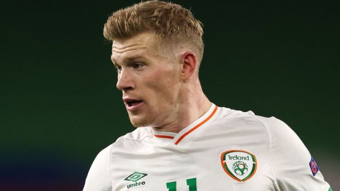 Republic of Ireland midfielder James McClean