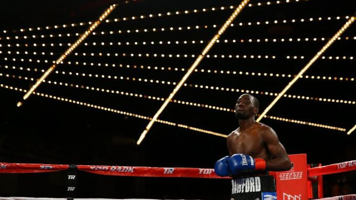 Terence Crawford is a three-weight world champion