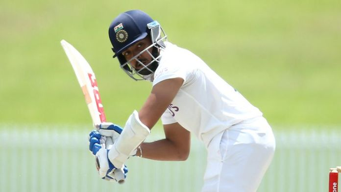 Prithvi Shaw is left out after scoring just four runs in the first Test