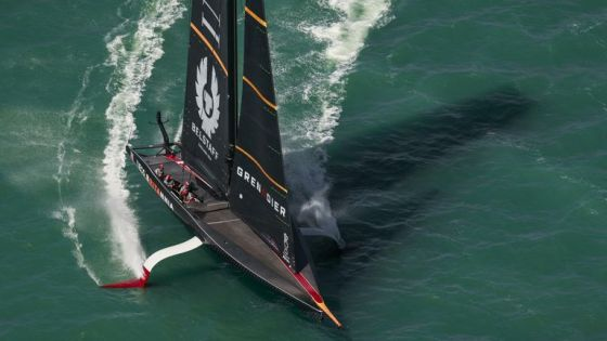 This was not the first day of racing that INEOS TEAM UK had hoped for in Auckland (Image copyright: COR 36   Studio Borlenghi)