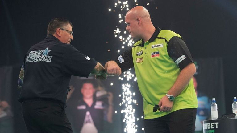 Anderson has backed the Dutchman to bounce back after relinquishing his world No 1 spot after seven years at the summit