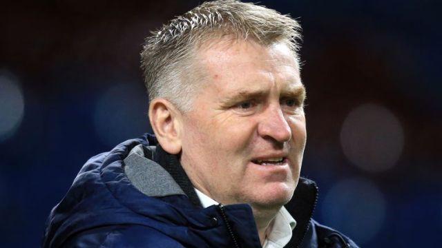 Aston Villa boss Dean Smith (PA image)