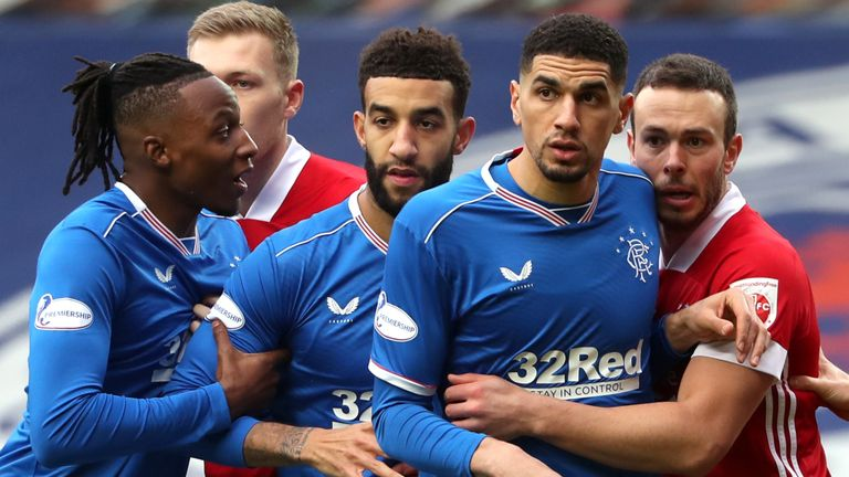 Rangers travel to face Aberdeen on Sunday, live on Sky Sports (PA)