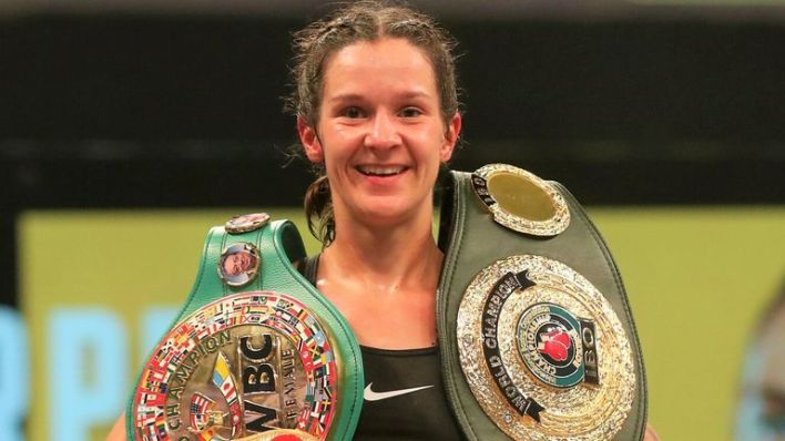 Terri Harper is targeting all the world super-featherweight titles