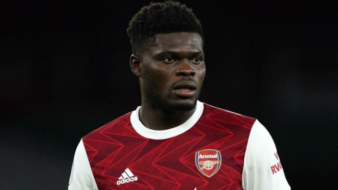 Thomas Partey has recovered from a thigh injury he sustained in Arsenal's loss in the North London derby to Tottenham
