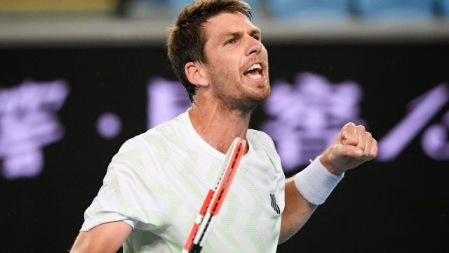 Britain's Cameron Norrie battled back from the brink of defeat to edge out Yoshihito Nishioka