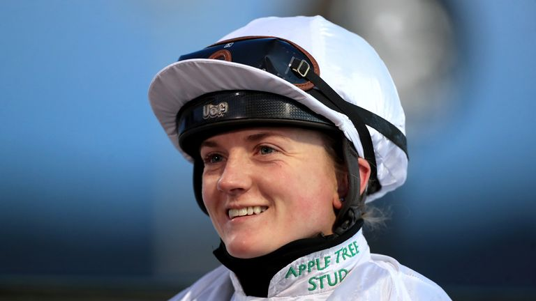 Hollie Doyle became the first female jockey to win on Saudi Cup day at the International Jockeys Challenge
